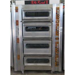Moffat Mini Rotel R12, 4 Deck, 12 Tray, 16 Inch Oven