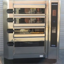 Moffat Rotel 3 18 inch 10 Tray 4 Deck Oven