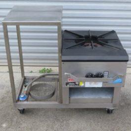 Goldstein Gas Stockpot Burner Pie Cooker
