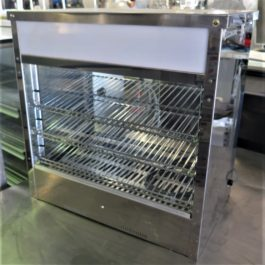Roband Countertop Pie Display Hot Food Merchandiser