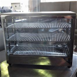 Roband Countertop Pie Warmer Hot Food Display Cabinet