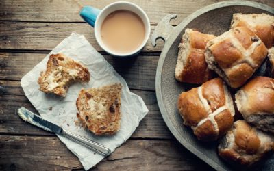 Hot Cross Bun Piping Mix Recipe