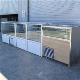 Made to Order Custom Shopfront Display Cabinet Set